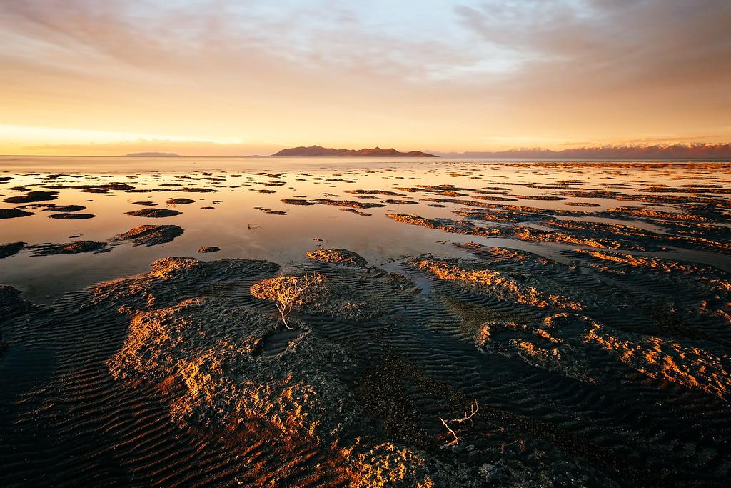 April 4th Great Salt Lake Sunset
