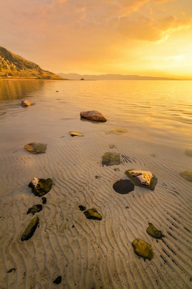 Great Salt Lake Rocks