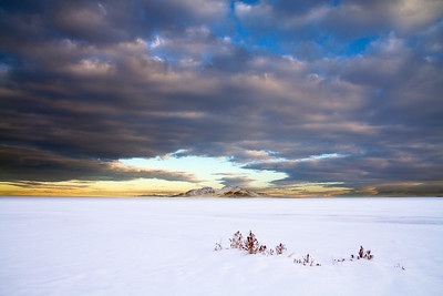 Snow Day @ Great Salt Lake, Utah