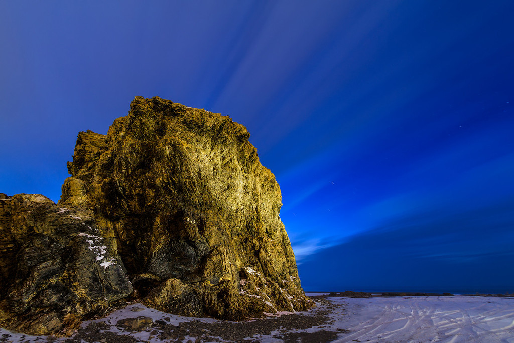 Black Rock at the Blue hour