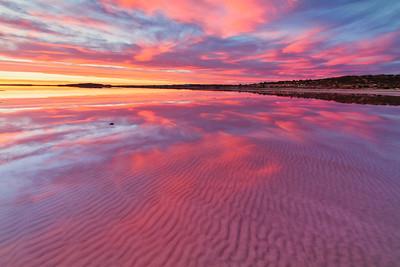 Stansbury sunset