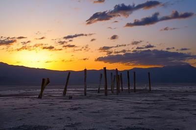 sticks but no stones @ Great Salt Lake, Utah