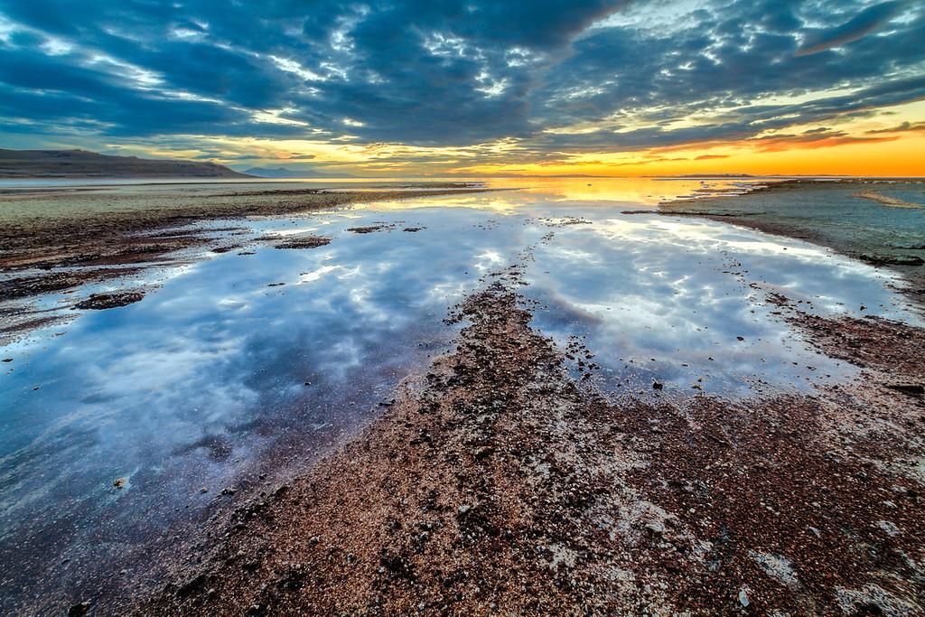 Bridger Bay, Antelope Island, Utah