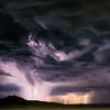 Salt Flats lightning storm