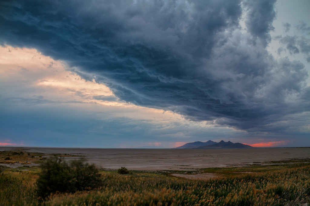 Great Salt Lake Storm
