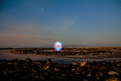 spiral jetty power