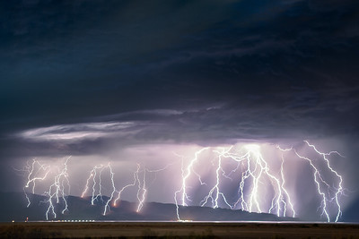Stansbury Mountains Lightning Storm
