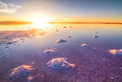 Stansbury Island Salt formations