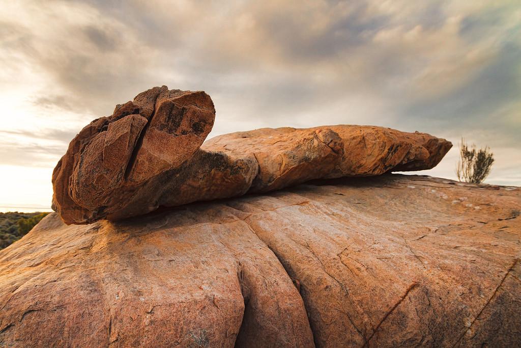 Stansbury Island rocks