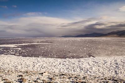 storm coming @ Great Salt Lake, Utah