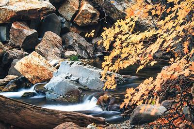 Little falls Big Cottonwood canyon