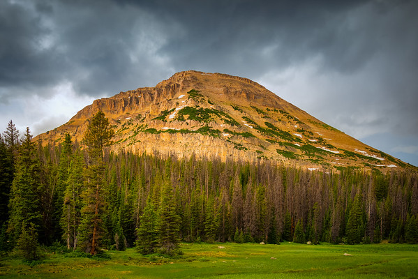 Bald Mountain from Mirror Lake