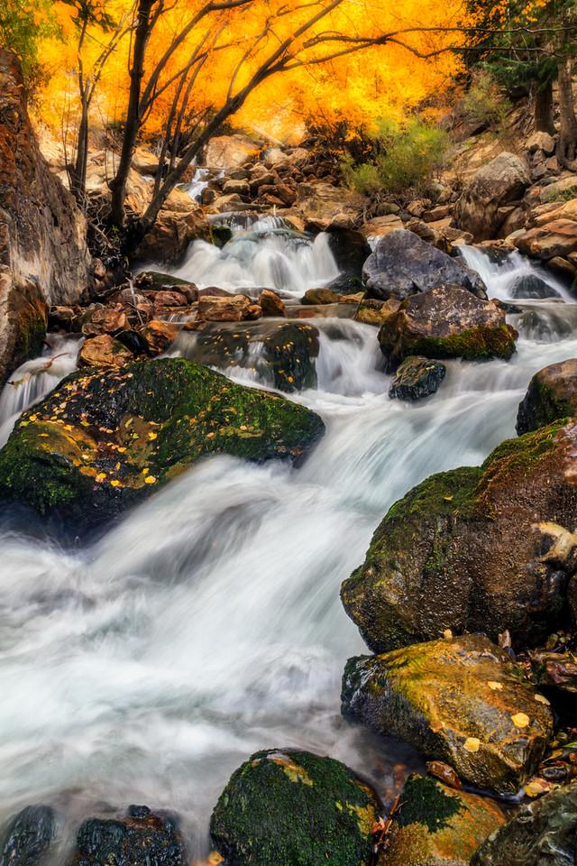 S Curve Falls, Big Cottonwood canyon, Utah