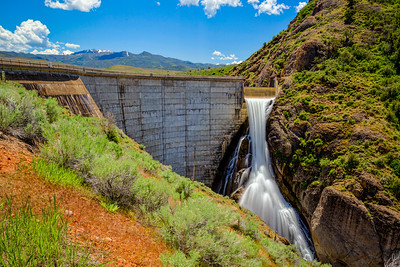 East Canyon Reservoir Dam, Actve Spillway