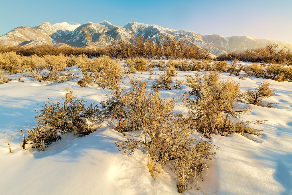Foothills of the Wasatch mountains