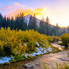Big Cottonwood sunset!