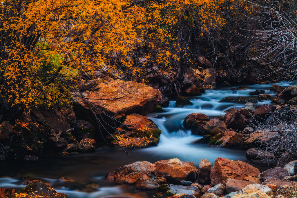 mystical Big Cottonwood Creek