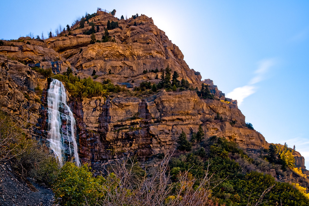 Lower Bridal Veil Falls