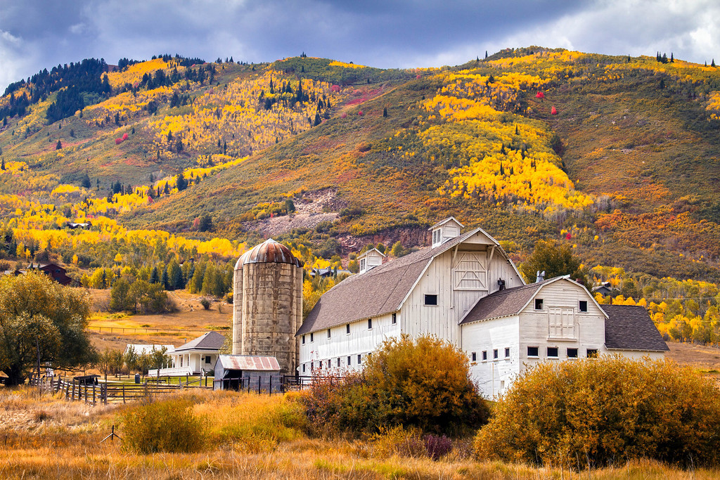 267 of my 365 project; park city barn