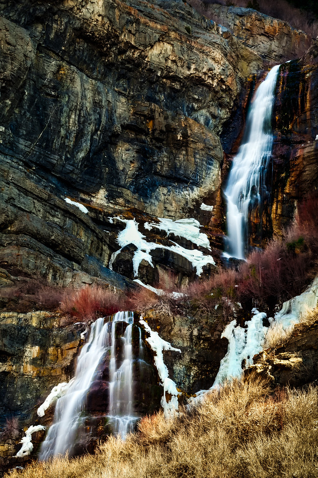 Bridal Veil Falls, Provo Canyon, Utah