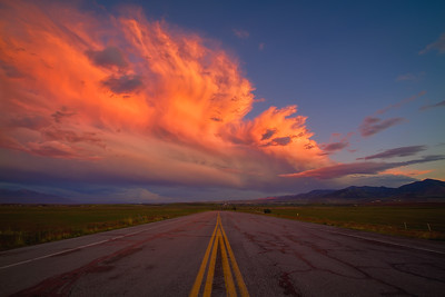 Storm over the Salt Lake Valley