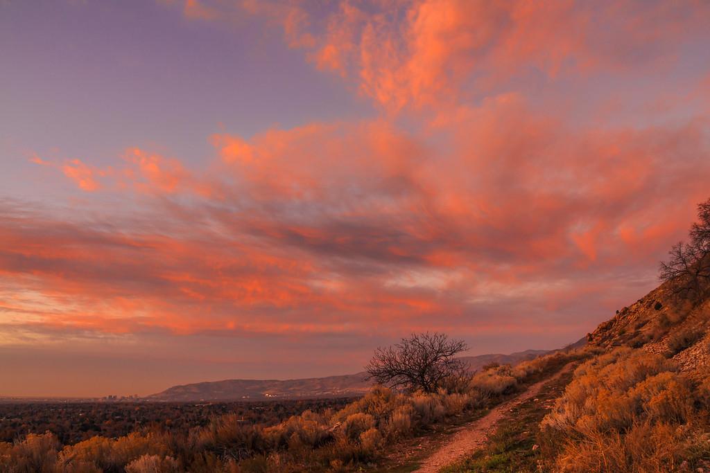 sunset November 14th 2013