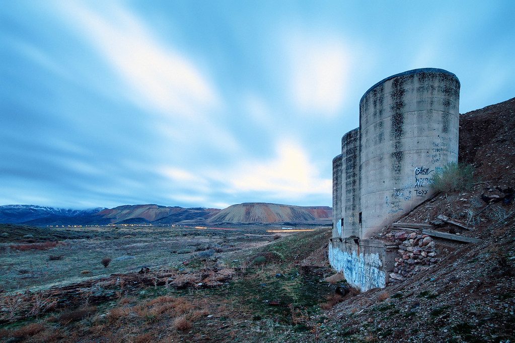 Midas Creek Silos and Kennecott