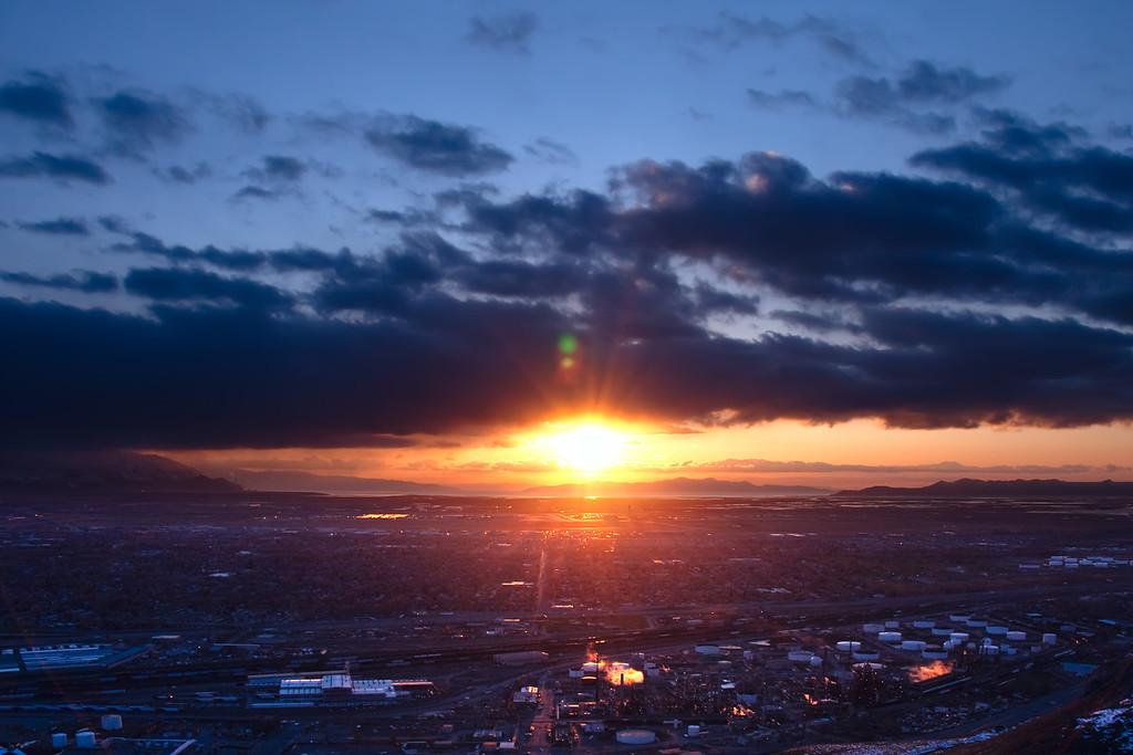 solar and oil power, Salt Lake City, Utah