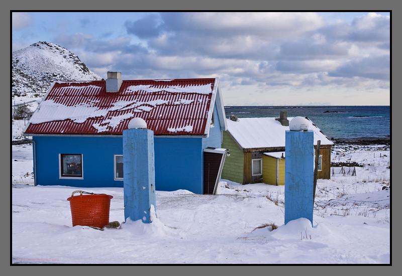 Blue gate<br /> Breivika, Værøy