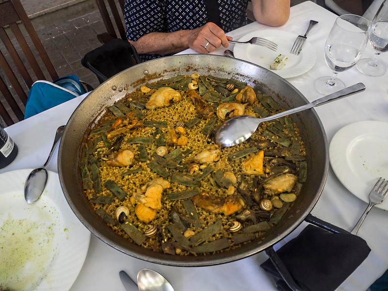 Meat paella, Valencia