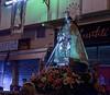 Small midnight religious procession, Valencia