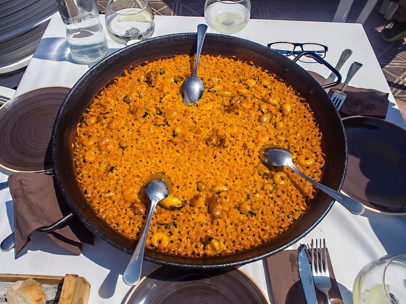 Seafood paella, Valencia