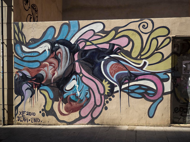 Graffiti, Valencia