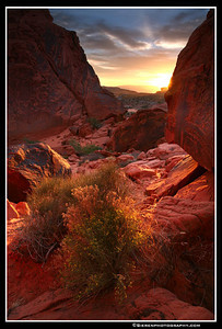 Ignition  Valley of Fire State Park, Nevada