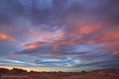 Valley of Fire Skies Where the skies are unlimited with some of the best sunsets I've ever seen!