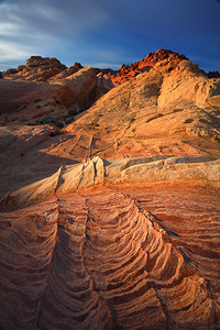 Texture Valley of Fire Sandstone