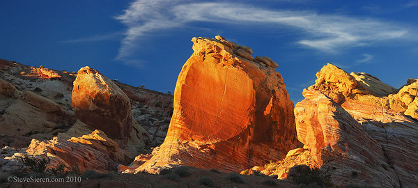Valley of Fire Golden Hour Light