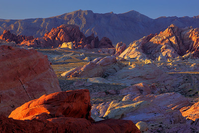Rainbow Vista at Valley of Fire State Park Nevada