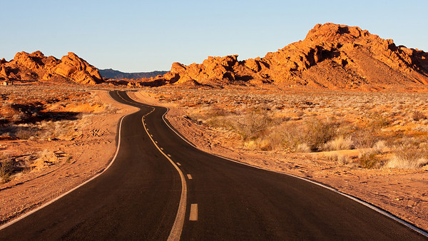Valley of Fire State Park and Red Rock Canyon Conservation Area, Nevada, Dec. 2009