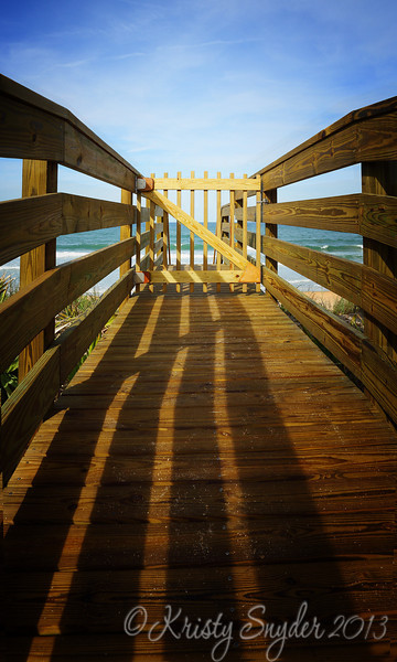 Walkway to the Shoreline at Palm Coast FL