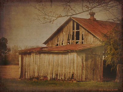 Old Decaying Barn