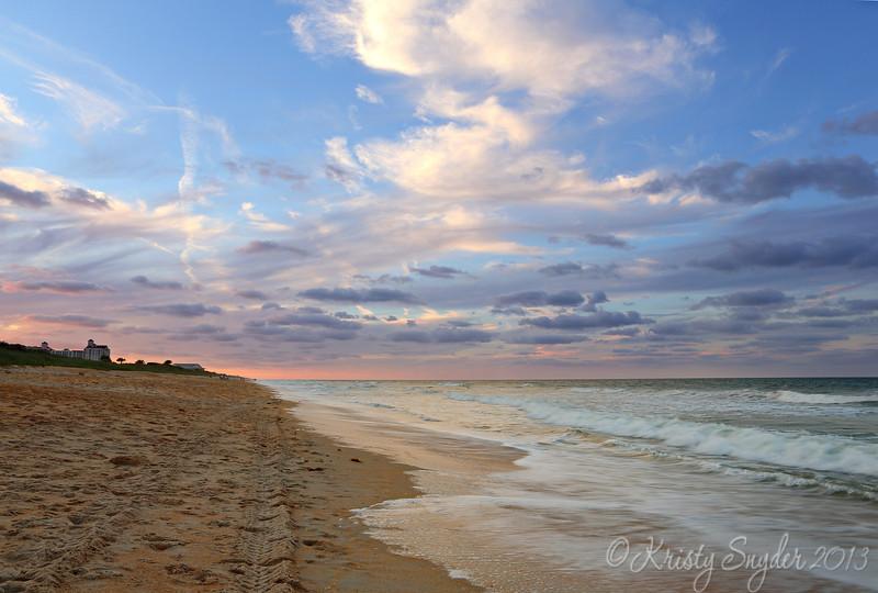 Sunset over Palm Coast, FL