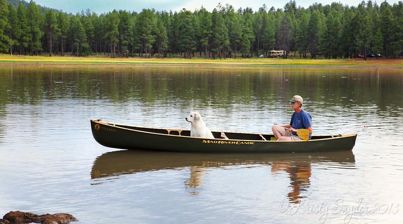 A man's best friend.. @ Dogtown Lake, Williams, AZ