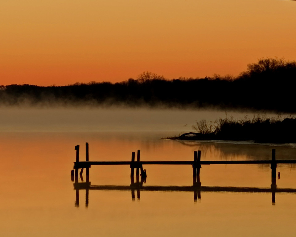 Mist on the Rivah.  Shot at sunrise on the Rappahannock River in Virginia.