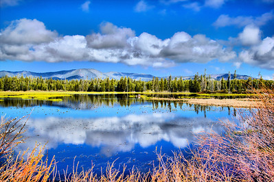 West Yellowstone - Swan Lake Reflection