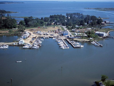 Owens Marina in Poquoson, VA.  May 2003 I shot this one from a helicopter while doing a brush fire survey for the city.