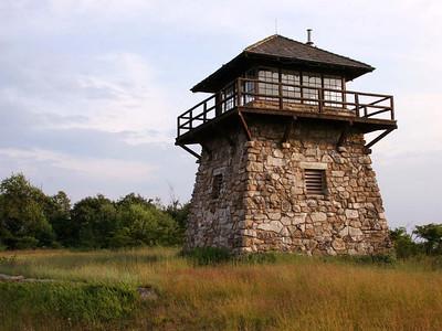 July 2007, fire tower on the Virginia / West Virginia border, west of Harrisonburg, VA