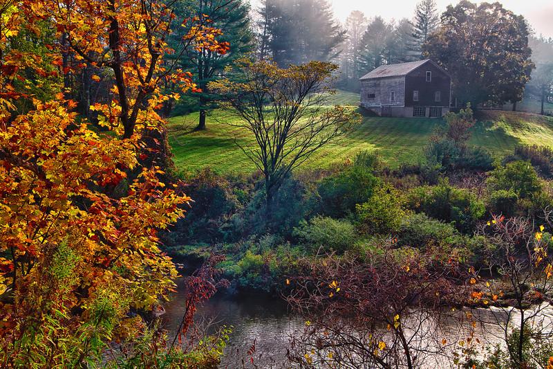 Vermont, Stowe, Lake Elmore, Foliage, Fall Colors, Landscape, HDR, 佛蒙特, 秋色 风景