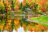 Vermont, Stowe, Montain Mansfield, Foliage, Fall Colors, Landscape, 佛蒙特, 秋色 风景