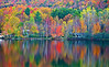 Vermont, Stowe, Lake Elmore, Foliage, Fall Colors, Landscape, 佛蒙特, 秋色 风景